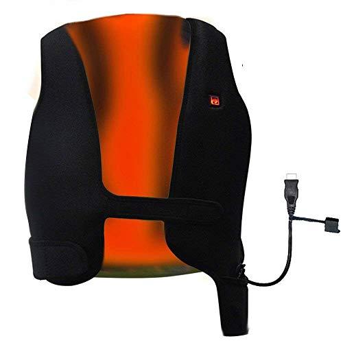 GENERAL ARMOR USB Beheizte Weste Jacke Herren Damen Bosch - Unisex Waschbare Größe Einstellbar USB-Lade Erhitzt Polaren Fleece Kleidung Winter Warme Weste zum Outdoor Reiten Skifahren Angeln(XS~S)