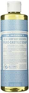 Dr. Bronner's- Savon de Marseilles doux Bio pour bébé, 500 ml