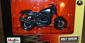 Harley Davidson XR1200X, mattschwarz, 2011, Modellauto, Fertigmodell, Maisto 1:18