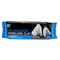 Artoys Air Hardening Modelling Clay - AIR Dry Clay - White 1kg Craft Art (A0629)