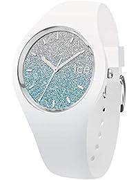 Ice-Watch - ICE lo White blue - Montre blanche pour femme avec bracelet en silicone - 013425 (Small)