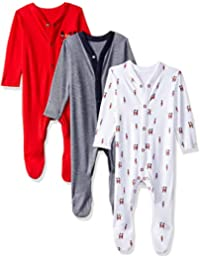 Mothercare Baby Boy's Sleepsuit (Pack of 3)
