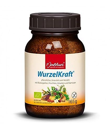 P. Jentschura Wurzelkraft Granulat fruchtig und würzig Basisches Nahrungsergänzungsmittel, 165
