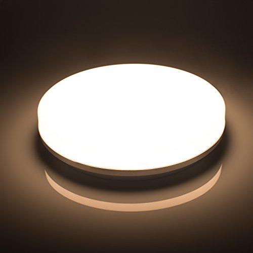 Öuesen LED Deckenlampe Badezimmer 18W Neutralweiß LED | preispiraten ...