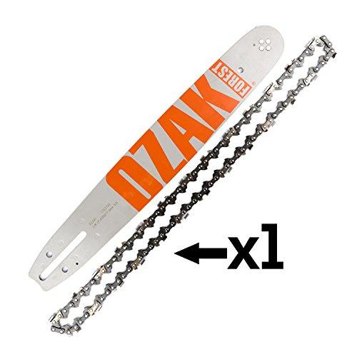 Cadena + espada para motosierra 35cm 3/8 1,3mm 52E = Oregon 140spea041