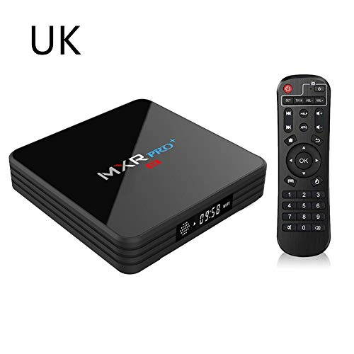 Preisvergleich Produktbild Android 7.1 Netzwerk-Player,  RK3328 4 + 32g 2, 4 G / 5 GHz WiFi 4K Full-HD-Dualband-WLAN BT 4.0 mit Digitalanzeige-TV-Box für Heimkino-Spiele.