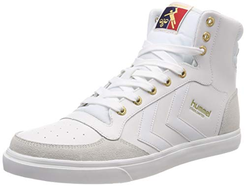 Hummel stadil limited high, sneaker a collo alto uomo, bianco (white 9001), 43 eu