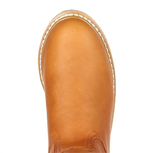 FB Fashion Boots Georgia Boot G5153 M Wedge Wellington Gold/Herren Stiefel Braun/Herrenstiefel/Work Boot Gold (Weite M)