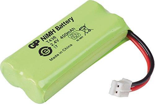 Eurosell NiMH-Akku 2.4 V 400 mAh zb für Siemens A16-A160 Telefon Telefonakku Ersatz für Original