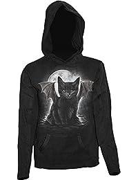 Spiral Hoodie Women's - Bat Cat F015F264