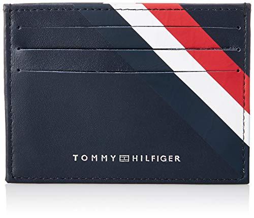 Toy Hilfiger Bold CC Holder Porta Carte di Credito Uomo Blu 1x7.2x10.4 Centimeters