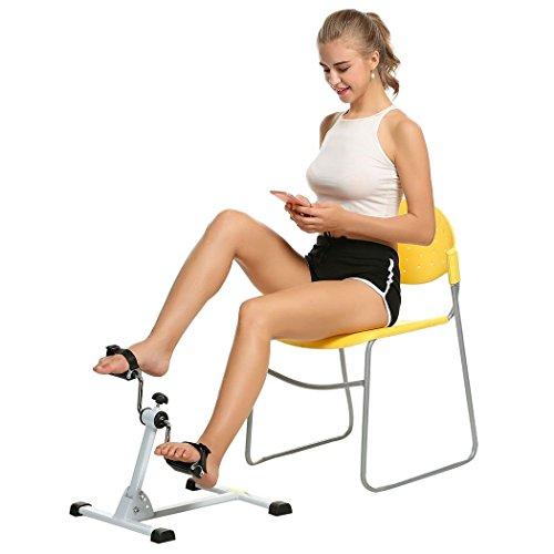 Zearo Arm- u. Bein-Pedaltrainer - faltbarer mini Heimtrainer, Physiotherapie