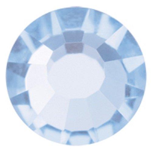 Viva Viva12 Glaskristalle, Heller Saphir, 1440 Preciosa, für 20ss Viva12, zum Aufbügeln, SS20, 5 mm
