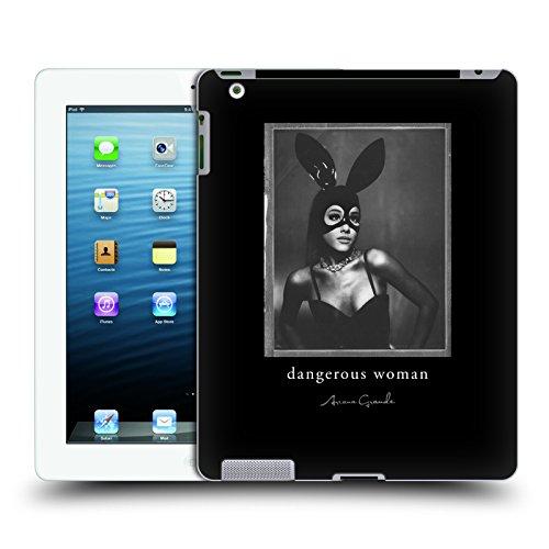 Offizielle Ariana Grande Kaninchen Maske Gefährliche Frau Ruckseite Hülle für Apple iPad 3 / (Kaninchen Masken)