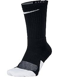 Nike U ELT Crew 1.5 Calcetines, Hombre, Negro (Black/White),