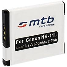 Batteria NB-11L per Canon PowerShot A2300, A2400 IS, A2500, A2600, A3400...Ixus 125 HS, 127...+ vedi lista!
