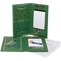 Cawila Taktikmappe Trainertasche - Bolsa para material de balonmano, color verde, talla m