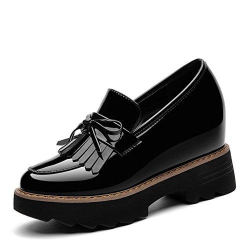 Scarpe Da donna.,Studentesse Scarpe,Altezza Interna Di Spessore Inferiore Superficiale Scarpe Bocca A