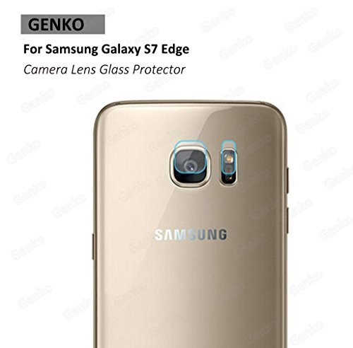 Genko-2 Packs High Definition Rear Camera Lens True Glass Protector For Samsung Galaxy S7 edge G935 Camera Glass