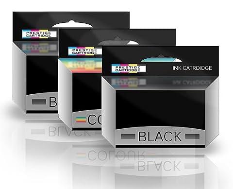 Prestige Cartridge T051 T052 Cartouche d'encre compatible avec Imprimante Epson Stylus Couleur un ensemble plus un autre Noir