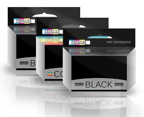 Prestige Cartridge Tintenpatrone Y498D und Y499D passend zu Dell Drucker All In One P513W, V313, 3-er Pack, farbig sortiert (23 All One Dell In)