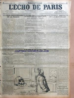 ECHO DE PARIS (LÕ) [No 12283] du 03/04/1918 - LE ...