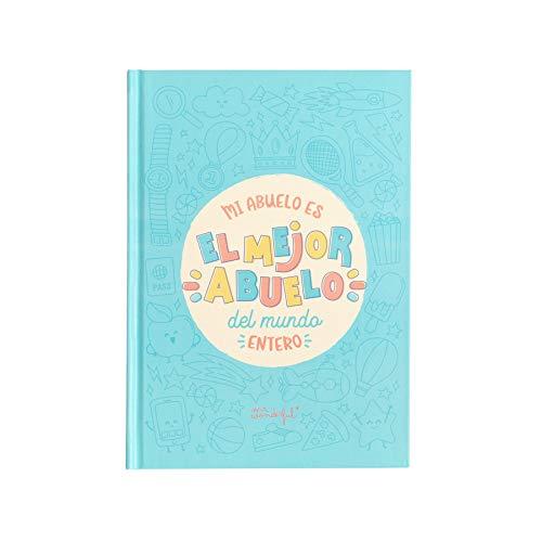 Mr. Wonderful WOA09383ES Libro para rellenar-Mi abuelo es el mejor del mundo entero