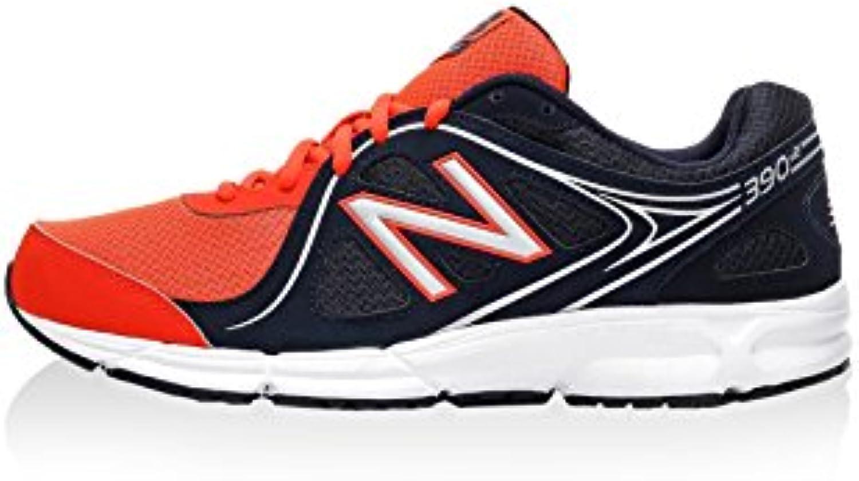 New Balance Herren NBM390BO2 Sneaker  Rot/Dunkelblau  44.5 EU