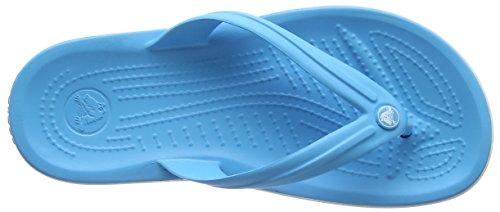 Crocs Crocband Flip U, SaCrocs Crocband Flip U, Sandali, Unisex - adulto Blu (Electric Blue)