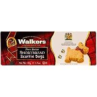 Walkers Shortbread Scottie Dogs Postre - 6 Paquetes de 1 x 110 gr - Total: 660 gr