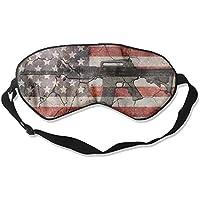 Eye Mask Eyeshade Gun US Flag Sleeping Mask Blindfold Eyepatch Adjustable Head Strap preisvergleich bei billige-tabletten.eu