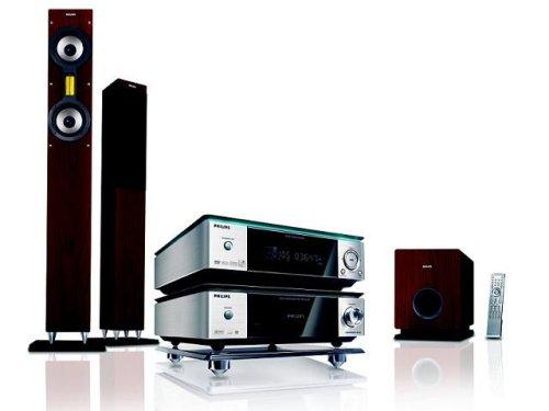 Philips MCD 709 Heimkino-System (DivX-zertifiziert) silber/schwarz