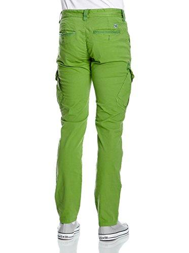 Timezone Hommes Cargo Pantalon NiklasTZ pop vert 7054 26-0318 4151 pop vert