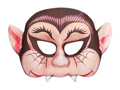 ke Halbmaske Kunststoff-Maske Freaky Spooky Horrormaske Gruselmaske, Variante wählen:P973042-1 ()