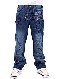 Peviani - Jeans - Droit - Homme bleu bleu