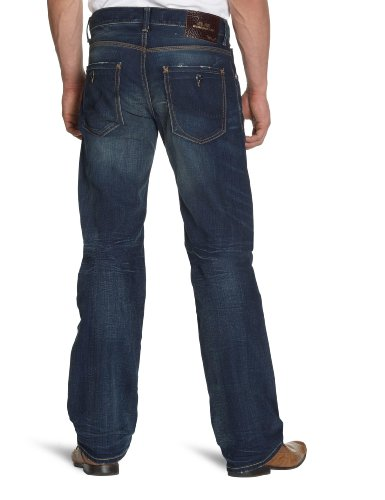 LTB Jeans Herren Jeanshose/ Lang 50049 / Miguel, Straight Fit (Gerades Bein) Blau (barbados wash 1335)
