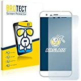 BROTECT AirGlass Protector Pantalla Cristal Flexible Transparente para Ulefone Paris X Protector Cristal Vidrio - Extra-Duro, Ultra-Ligero, Ultra-Claro