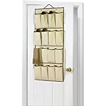 16bolsillos organizador de zapatos para colgar en pared puerta armario caja de almacenaje