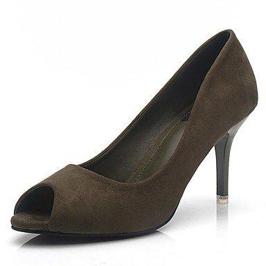 Zormey Frauen Heels Frühling Sommer Herbst Club Schuhe Comfort Fleece Büro & Amp; Karriere Party & Amp; Abendkleid Stiletto Heel Walking US7.5 / EU38 / UK5.5 / CN38