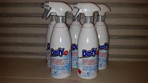 5X Dasty Gel Gründliche Hygiene Küche Badezimmer Badreiniger