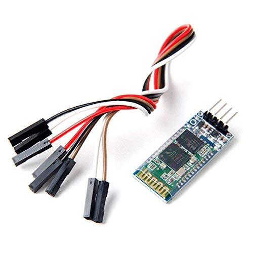 Aukru HC-06 Drahtlose 4 Pins Bluetooth RF Transceiver Serial Modul mit 4 set kabel für Arduino Bluetooth-transceiver
