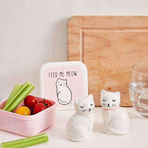 Maia Gifts Cutie Cat Salt and Pepper Shaker Set Salt Shaker Set