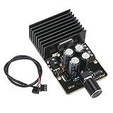 Amplificador de Potencia Digital, Droking 30W + 30W Tarjeta de Amplificador de Audio estéreo de Doble Canal, TDA7377 DC9-18V 12V módulo de Placa AMP 4 capacitancia DIY Altavoz con Cable blindado