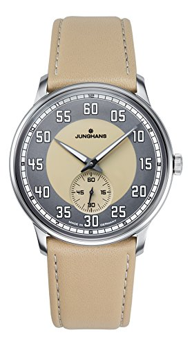 Junghans Meister Women's Watch Analogue Leather Beige 027-3608.00