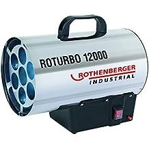 Rothenberger Industrial 1500000164Roturbo 12000Generador de aire caliente Gas, 11900W, gris