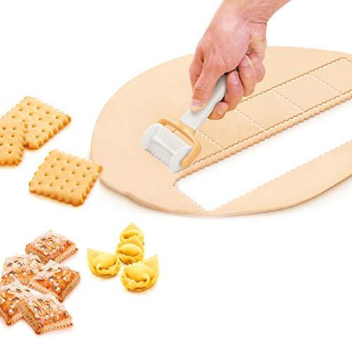 Mitlfuny Black Friay DE Cyber Monday DE,Rolling Cookie Cutters Teigschneider Roller Slice Keks schneiden