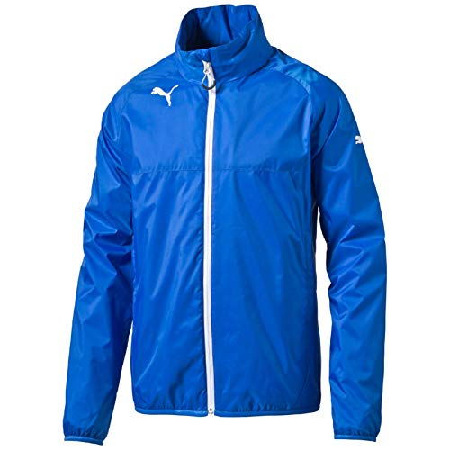 PUMA Kinder Jacke Rain Jacket Regenjacke Royal/White, 152