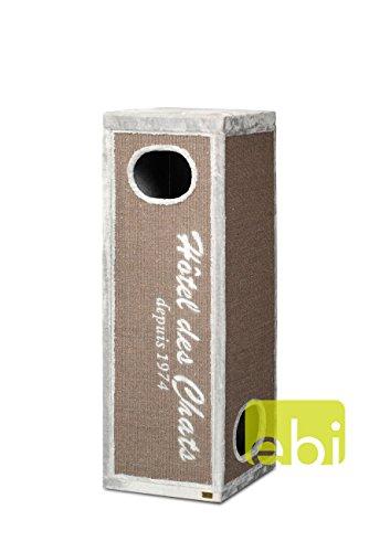 Produktabbildung von EBI Kratzturm Trend Rockefeller - Hotel des Chats, grau Höhe 150 cm