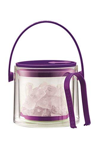 Bodum Cool - Eiskübel mit Zange - Kunststoff - Farbe Violett - 1,5 L - A11584-XYB-Y16-1