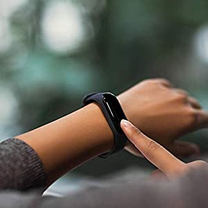 Xiaomi Mi Band 3 - Activity Bracelet, 0.78 '' Full OLED Touch Screen, Notifications, Submersible 50m, Measures Calories, Steps and Sleep, Black